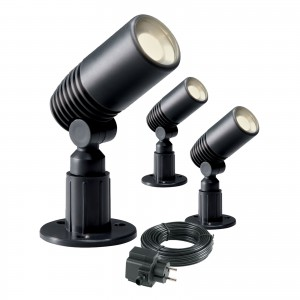Garden Lights Alder Set Spot 12V