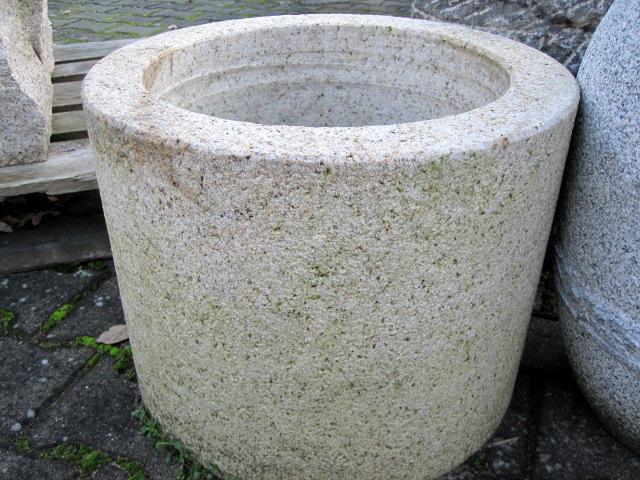 Pflanztrog Granit Gelb